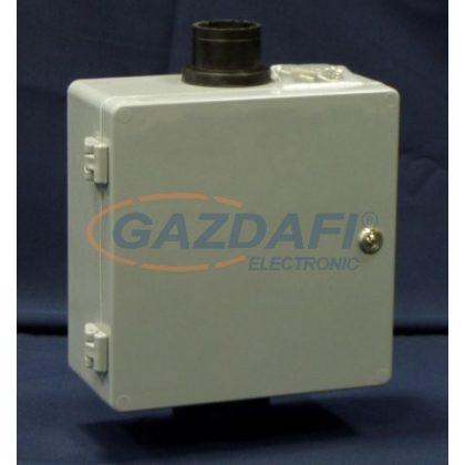 CSATÁRI PLAST MTSZ 7 csőcsonkos távközlési szekrény, 250x250x120mm