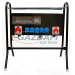 CSATÁRI PLAST CSE 200 ÁL5x2P+1x5P16A+1x5P32A+KmFiK Felvonulási szekrény, 600x250x120mm