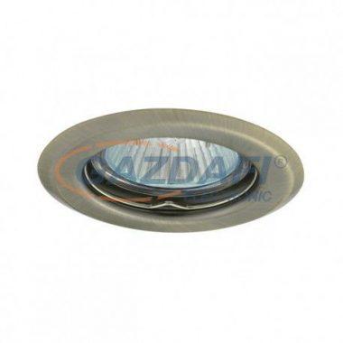 KANLUX süllyesztett spot lámpatest, Gx5,3, 12V, MR16, 35W, matt réz, IP20