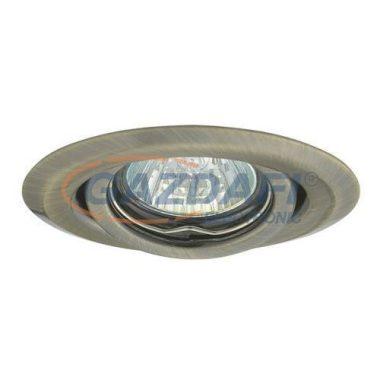 KANLUX süllyesztett spot lámpatest, Gx4, 12V, MR11, 20W, matt réz, billenthető