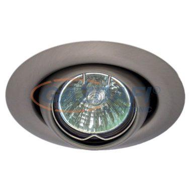KANLUX süllyesztett spot lámpatest, G4, MR11, 20W, 12V, antik réz, billenthető