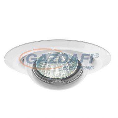 KANLUX süllyesztett spot lámpatest, Gx4, 12V, MR11, 20W, fehér, billenthető