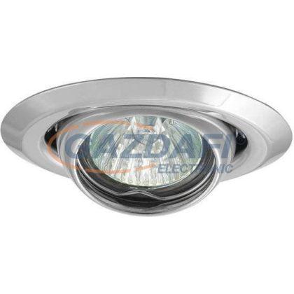 KANLUX süllyesztett spot lámpatest, Gx4, 12V, MR11, 20W, króm, billenthető, IP20, acél