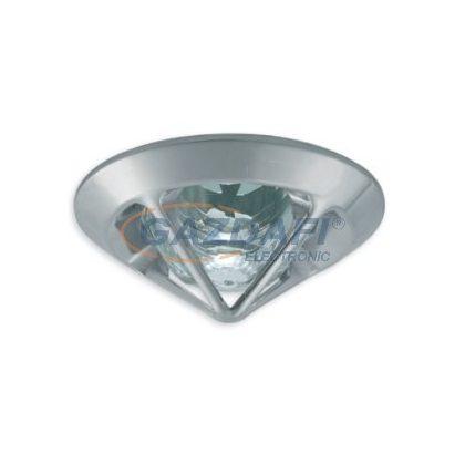 KANLUX süllyesztett spot lámpatest, Gx5,3, 12V, 50W, króm, IP20
