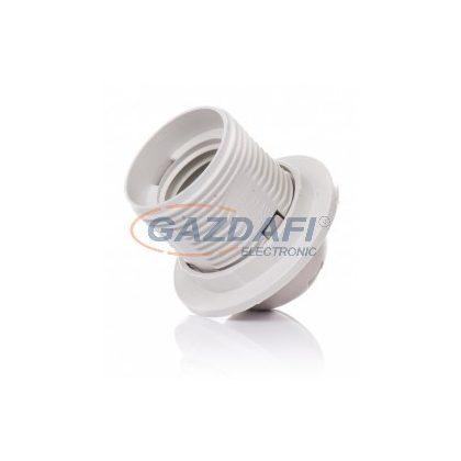 PAWBOL D.3027B csillárfoglalat, műanyag, E14, 60W, fehér, 230V
