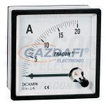 TRACON DCAM48-002 Analóg egyenáramú ampermérő közvetlen méréshez