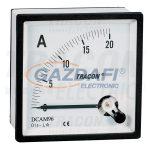 TRACON DCAM72-002 Analóg egyenáramú ampermérő közvetlen méréshez