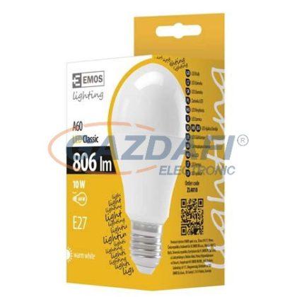 EMOS ZL4010 LED FÉNYFORRÁS A60 10W E27 WW