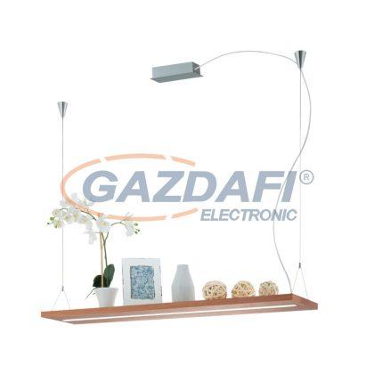 EGLO 39328 LED függeszték 28W tölgy/mnikkel Monroy