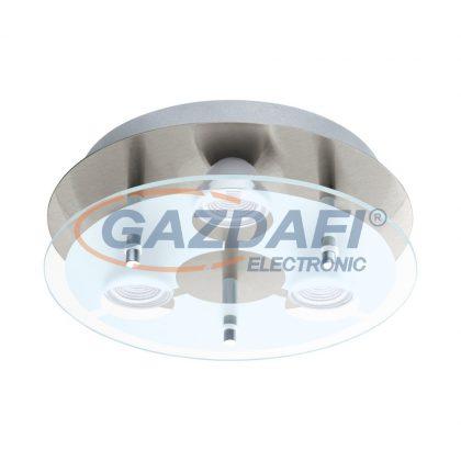 EGLO 75339 LED mennyezetiGU10 3x5Wmnikkel/szat CABOSD