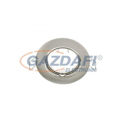 """ELMARK 9290/SN """"SA-90"""" süllyesztett, billenthető, hidegtükrös spot lámpatest, GU5.3, 50W, 12V, szatén nikkel, 82x25x73mm, A++-E"""