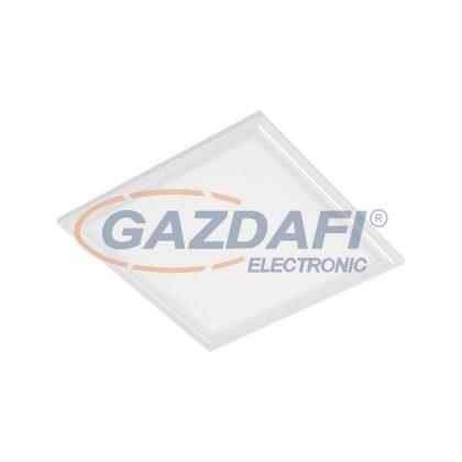 ELMARK 92PANEL030CWE LED panel süllyesztett szögletes gipszkartonhoz 48W 6400K 595x595x9mm fehér keret IP44 4800lm IP40 230V