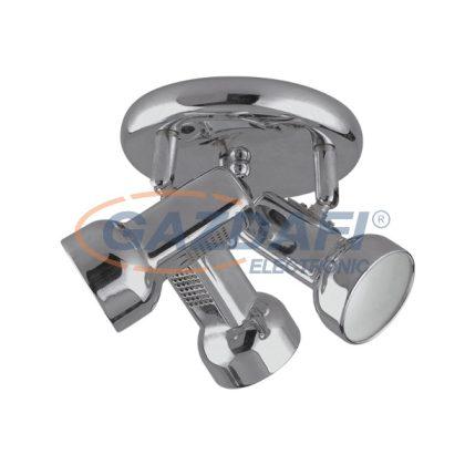 ELMARK 955JACK3R/SN JACK spot lámpa 3XE14 D180mm szatén nikkel