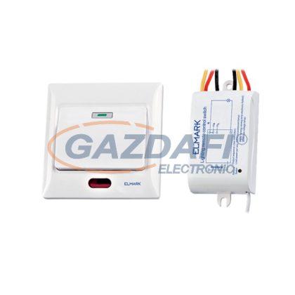 ELMARK 99101 Egycsatornás távirányító kapcsoló, 220V, 50m, 200W/600W