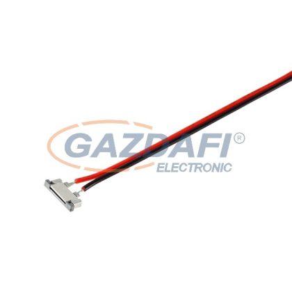 """ELMARK 99ACC021 """"ACC02"""" betáp csatlakozó egyszínű 8mm LED szalaghoz 150mm kábellel"""