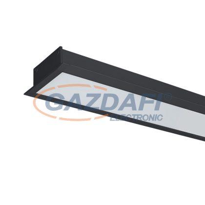 ELMARK 99BM604024/BLE LED PROFIL süllyesztett S77 24W 4000K 600mm fekete vészvilágító funkcióval 2280lm IP40 230V alumínium