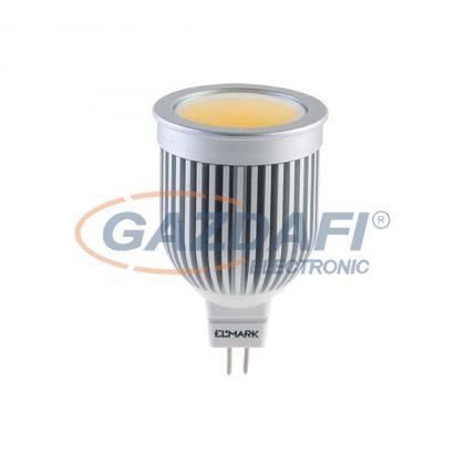 ELMARK 99LED375 LED fényforrás, COB, GU5.3, 5W, 12V, 350lm, meleg fehér, A+