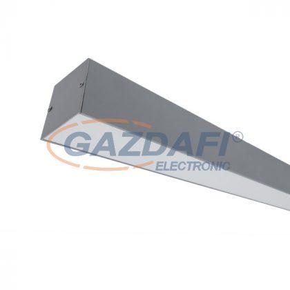 """ELMARK 99OM1504064/GR """"S77"""" Falon kívüli LED profil, 64W, 6080lm, 4000K, szürke, 1500mm, A++ -A"""