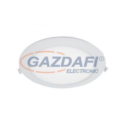 ELMARK 99XLED620CWE STELLAR LED panel süllyesztett KEREK 24W 6500K+INVERTERREL 1800lm IP40 230V alumínium