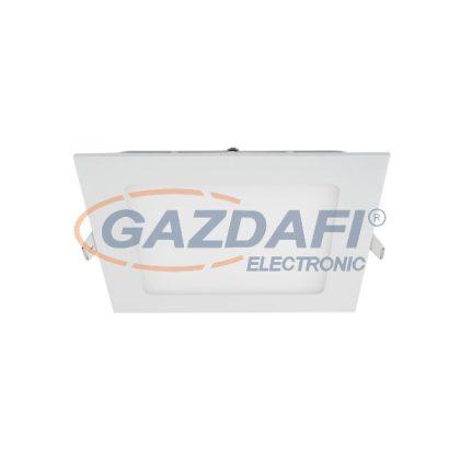 ELMARK 99XLED636CWE STELLAR LED PANEL süllyesztett, szögletes  24W 6500K 296X296 vészvilágító funkcióval 1800lm IP40 230V alumínium
