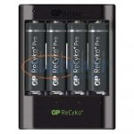 GP B04211 USB akkumulátor töltő U421 + 4×AA GP ReCyko+ Pro