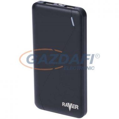 RAVER B0512  POWERBANK POLY 10000 FEK