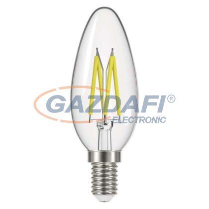 EMOS Z74218 LED Filament gyertya 6W(50W) 630lm E14 NW