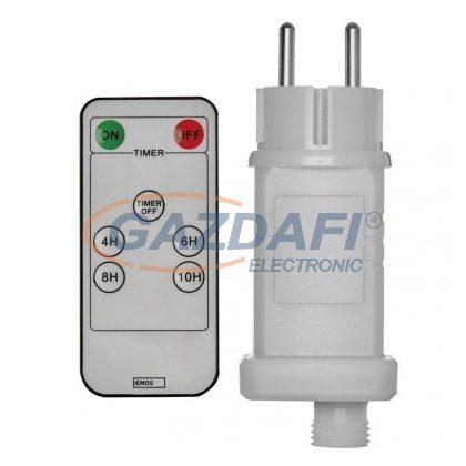 EMOS ZY2300R Trafó adapter 12W, IP44, távir., időzítő, fehér