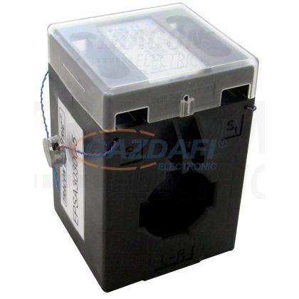 TRACON EPSA30300-5 Hitelesített áramváltó, sin 30×10, Po:0,5S 300/5A, 5VA