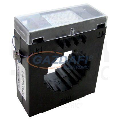 TRACON EPSA60600-5 Hitelesített áramváltó, sin 60×12, Po:0,5S 600/5A, 2,5VA