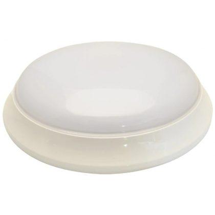 TRACON EVA21NW Műanyag búrás falon kívüli LEDlámpatest fokozott védelemmel 100-240 V, 50 Hz, 21 W, 1600 lm, 4000 K, IP54, EEI=A