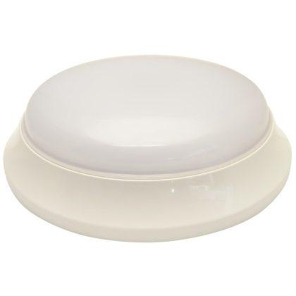 TRACON EVAE28NW Műanyag búrás falon kívüli LEDlámpatest inverterrel 100-240 V,50 Hz,28/2 W,2100/140 lm,1 h,4000 K,IP54, EEI=A
