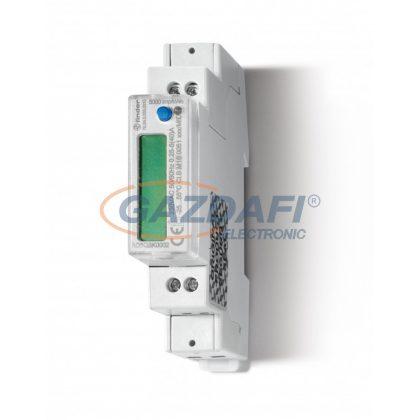 FINDER 7E.64.8.230.0310 Fogyasztásmérő, 1F, 1KE, 40A, LCD, MID