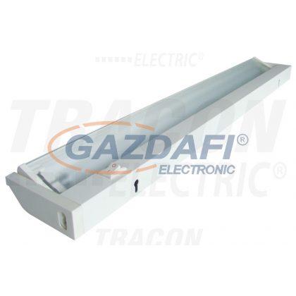TRACON FLF-T5-21W Forgatható fénycsöves bútorvilágító lámpatest 230V, 50Hz, T5, G5, 21W, EEI=A