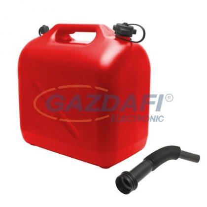 10892B Műanyag üzemanyagkanna 20L
