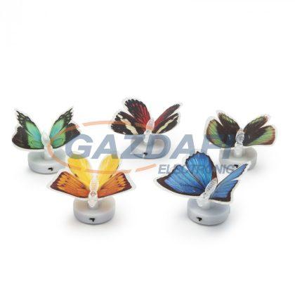 11434 LED-es színváltó pillangó