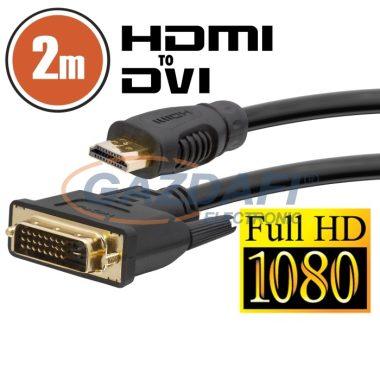 20380 DVI-D / HDMI kábel • 2 m