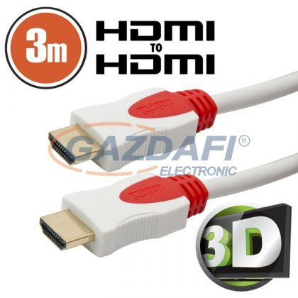 20423 3D HDMI kábel • 3 m