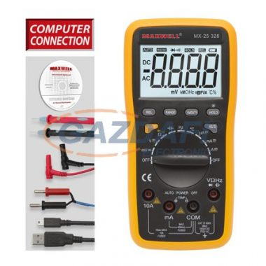 MAXWELL 25328 Digitális multiméter 5az1-ben