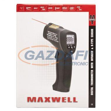 MAXWELL 25904 Digitális K-típusú és infrared hőmérő