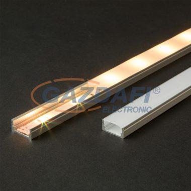 41010M2 LED aluminium profil takaró búra