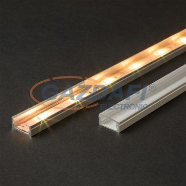 41010T1 LED aluminium profil takaró búra