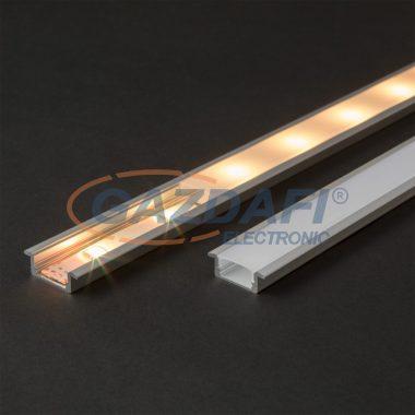 41011M1 LED aluminium profil takaró búra