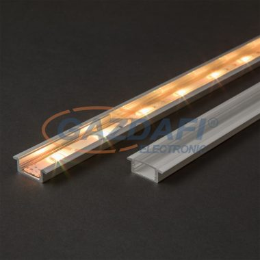 41011T2 LED aluminium profil takaró búra