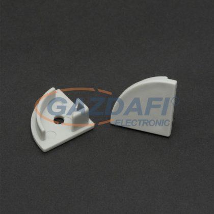 41012E LED aluminium profil végzáró (41012höz)