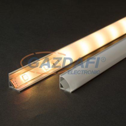 41012M1 LED aluminium profil takaró búra