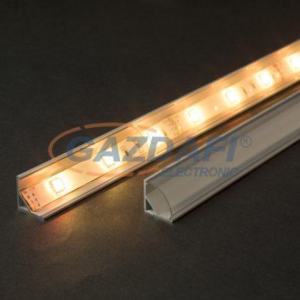 41012T2 LED aluminium profil takaró búra