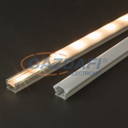 41013M1 LED aluminium profil takaró búra