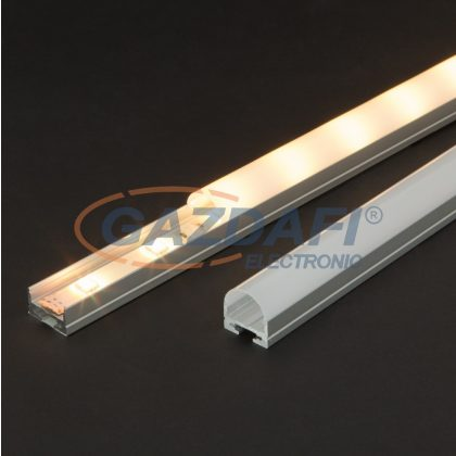 41020M1 LED aluminium profil takaró búra