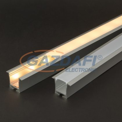 41021M2 LED aluminium profil takaró búra